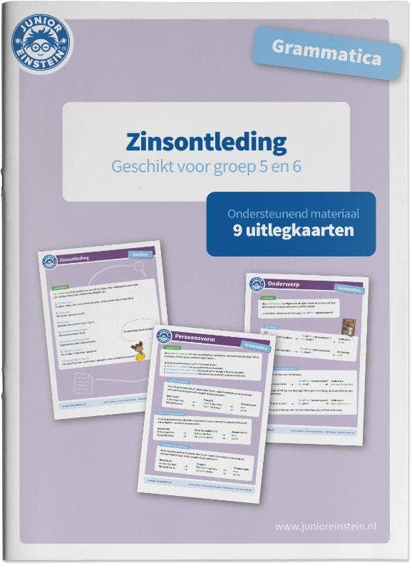Grammatica Ondersteunend materiaal Zinsontleding groep 5 en 6