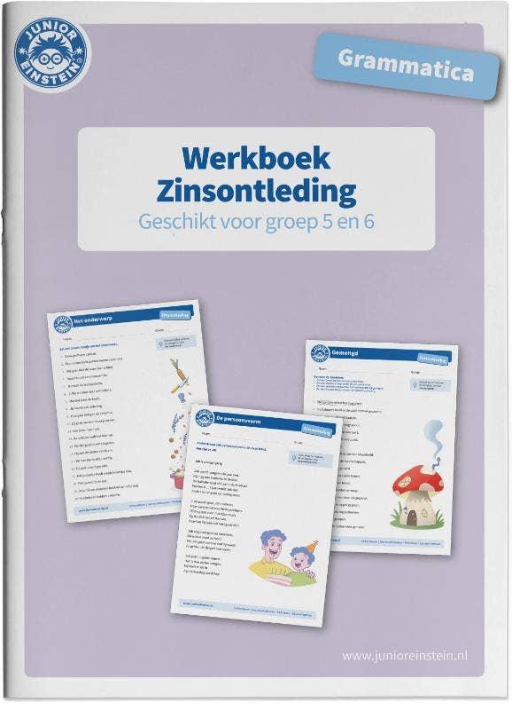 Zinsontleding Werkboek Grammatica voor groep 5 en 6