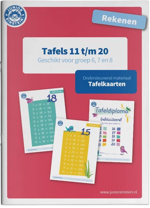 Tafels 11 t/m 20 rekenen geschikt voor groep 6; 7 en 8