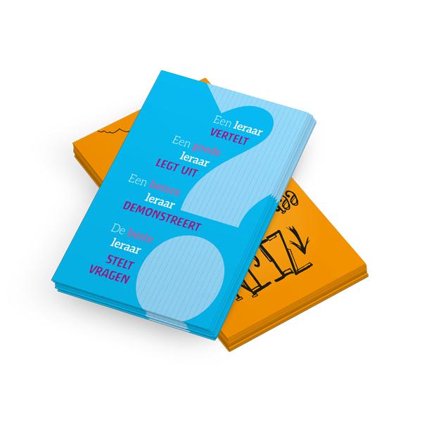 Ansichtkaarten voor de leraar (set)
