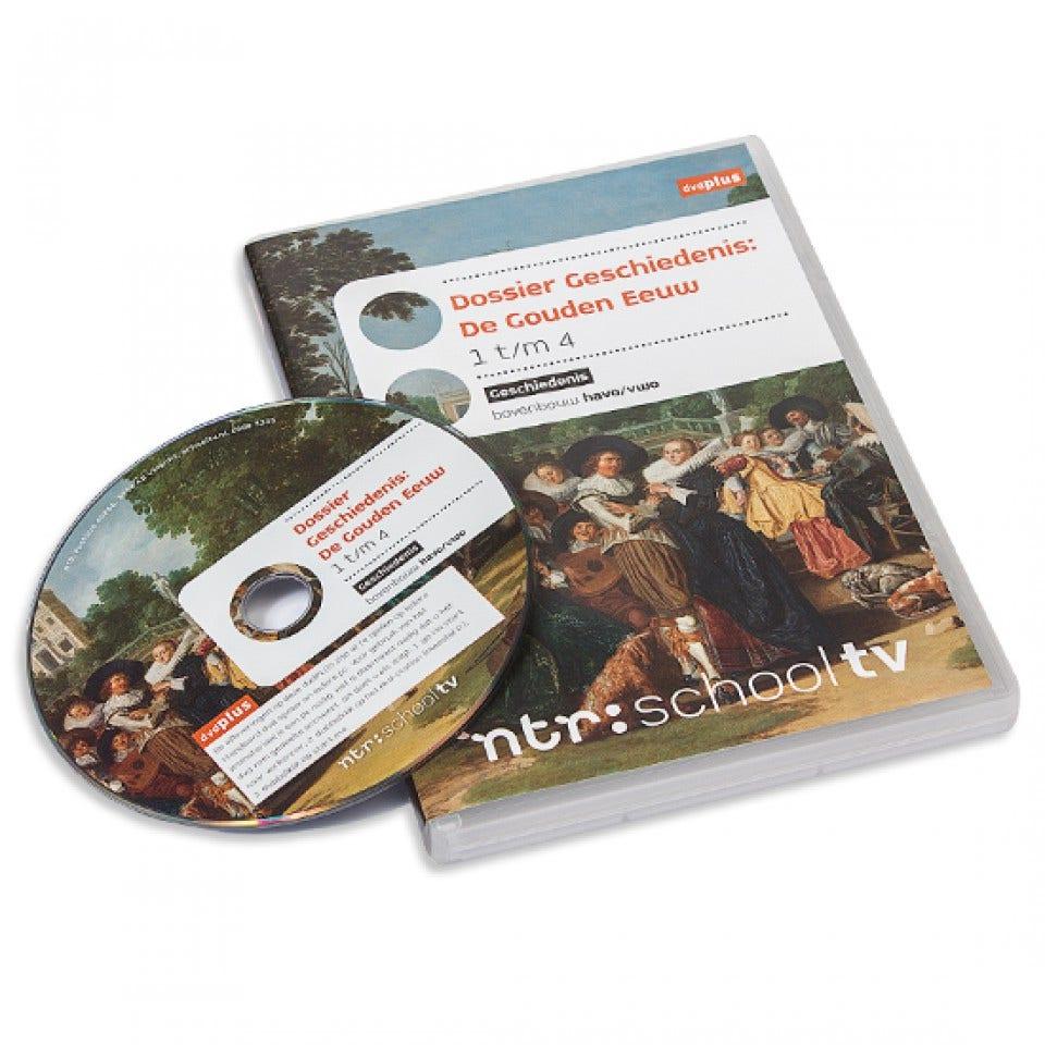 De Gouden Eeuw 1-4 - Dossier Geschiedenis dvdPLUS