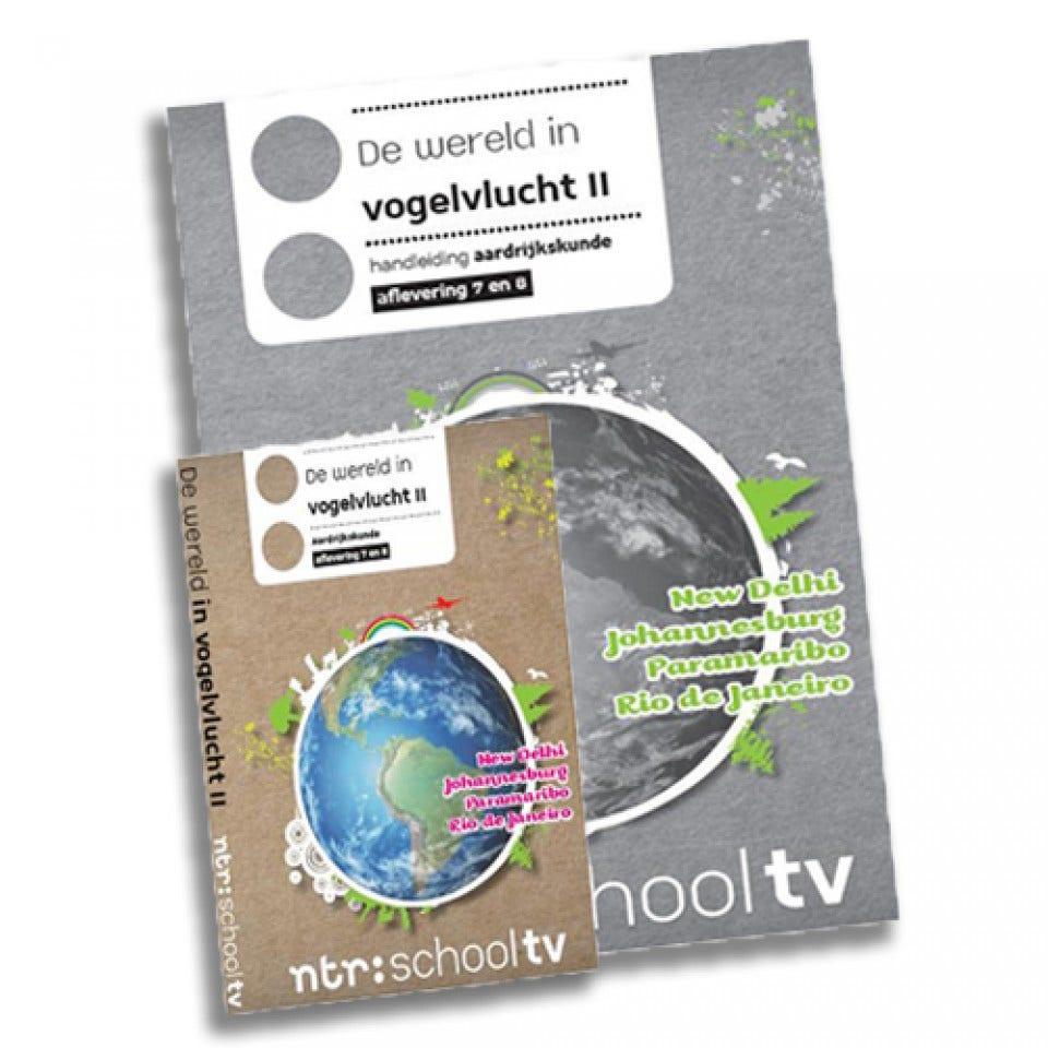 De wereld in vogelvlucht 7-10 DVD en Handleiding