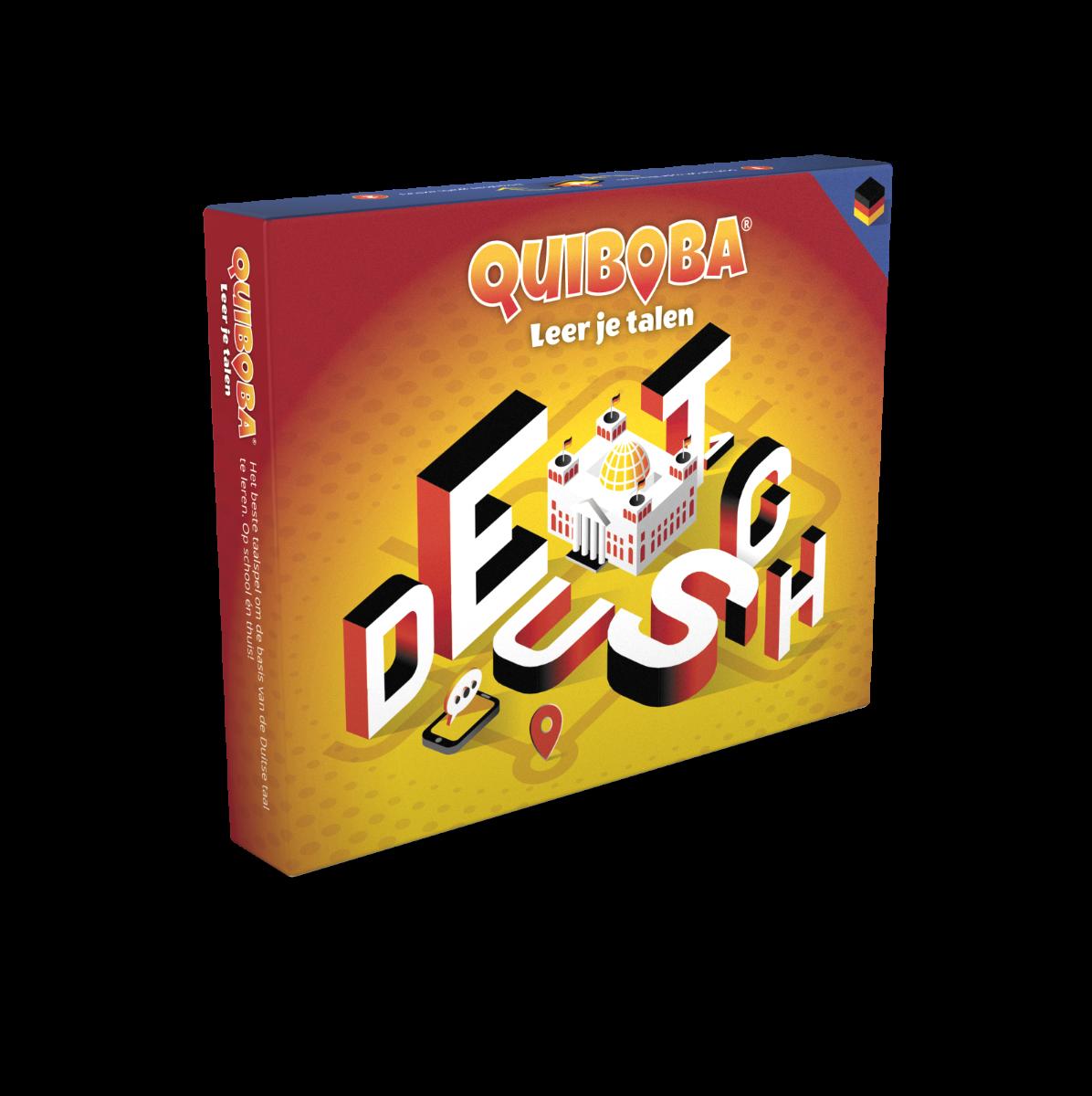 Quiboba taalspel Duits - 1