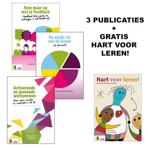 3 CPS publicaties + gratis Hart voor leren
