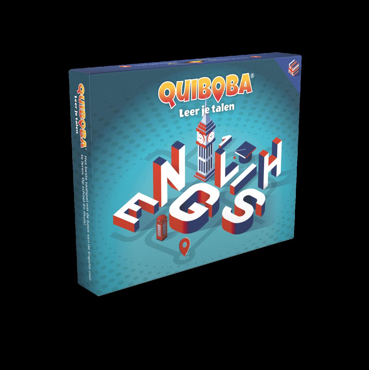 Quiboba taalspel Engels - 1