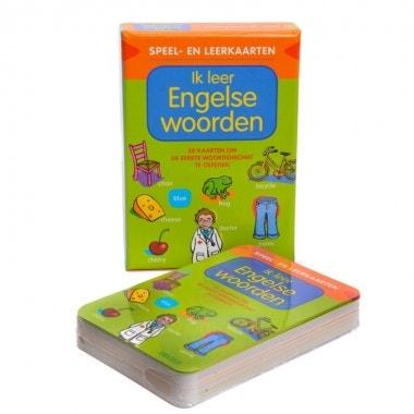Ik leer Engelse woorden - speel- en leerkaarten