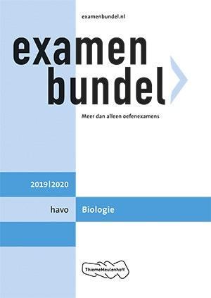 Examenbundel Havo Biologie 2019-2020