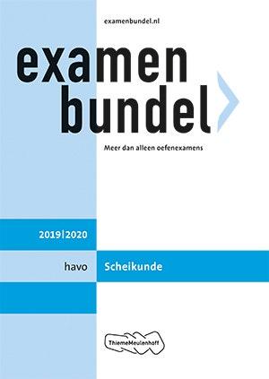 Examenbundel havo Scheikunde 2019/2020