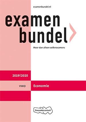 Examenbundel vwo Economie 2019/2020