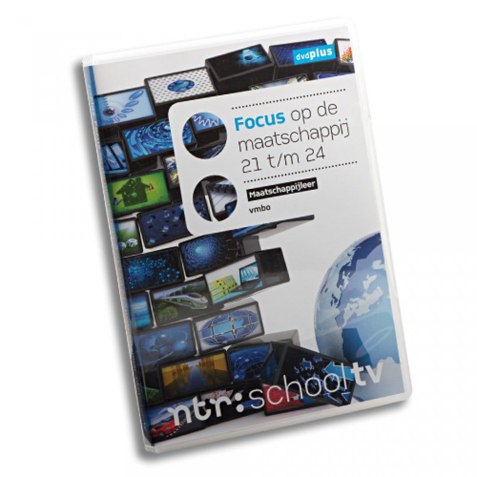 Focus op de maatschappij 21-24 dvdPLUS