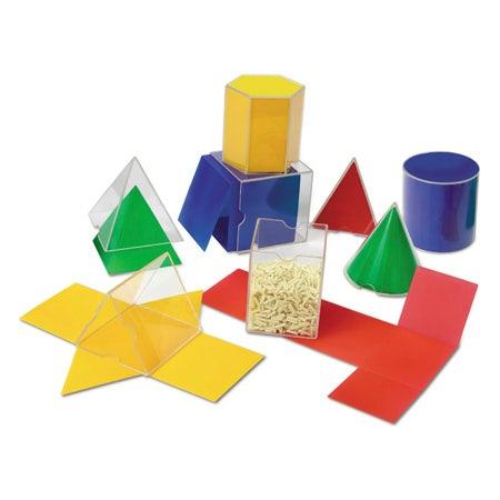 Geometrische vormen - vouwvormen