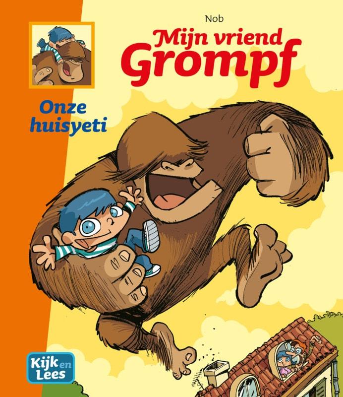 Mijn vriend Grompf - Onze huisyeti - groep 6