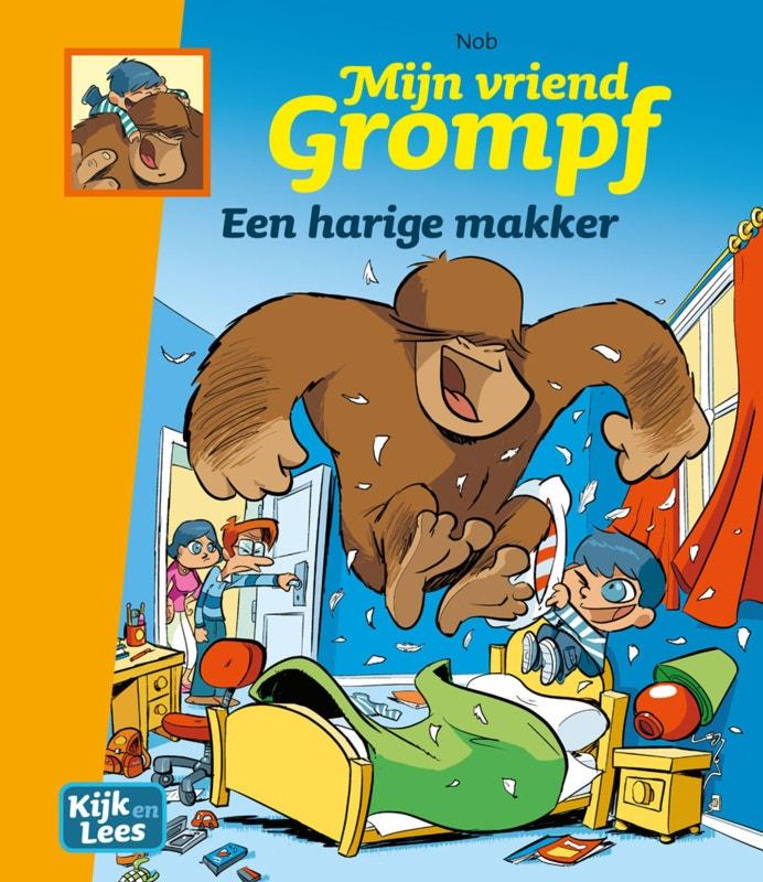 Mijn vriend Grompf - Een harige makker - groep 6