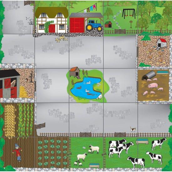 Bee-Bot vloermat boerderij