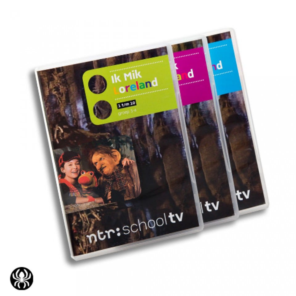 Ik Mik Loreland (3 DVD's)
