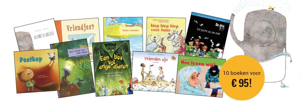 Kinderboekenweek 2018 boekenpakket onderbouw