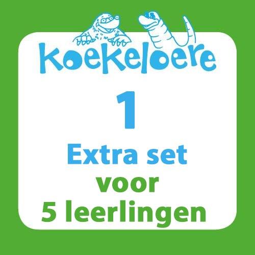 Koekeloere lespakket 1 extra set 5 leerlingen