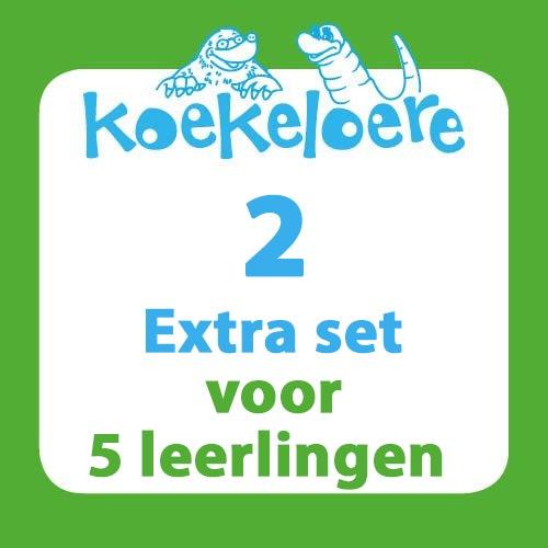 Koekeloere lespakket 2 extra set 5 leerlingen