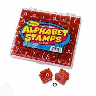 Alfabet stempels - Kleine letters