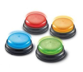 Antwoord Buzzers - Licht en geluid (4 ex.)