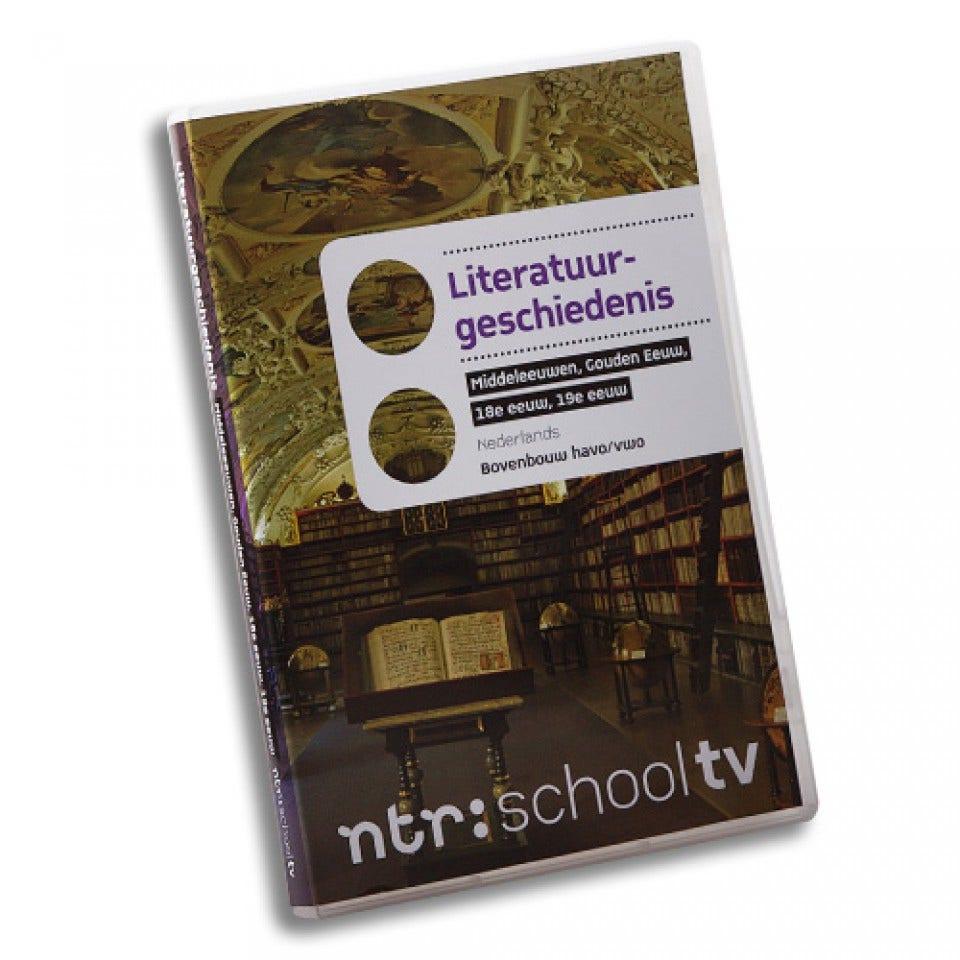 Literatuurgeschiedenis dvd-box