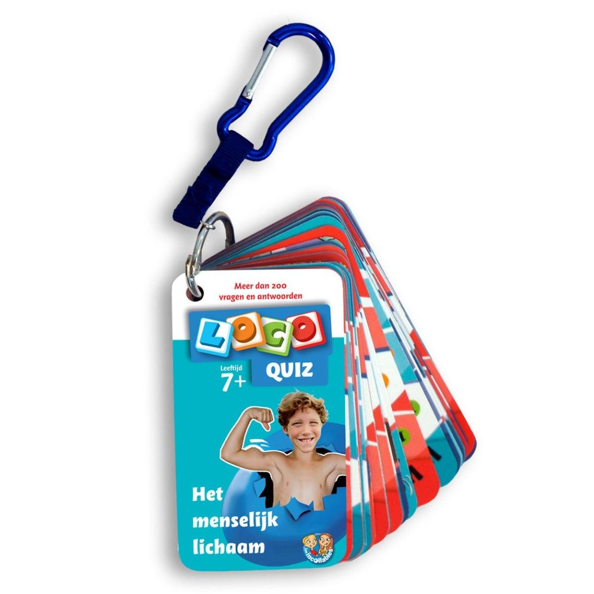 Loco Quiz Menselijk lichaam 7plus