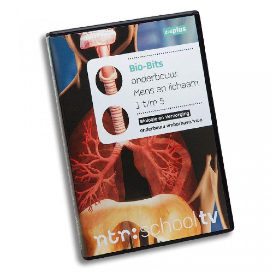 Mens en lichaam 1-5 - Bio-Bits onderbouw dvdPLUS
