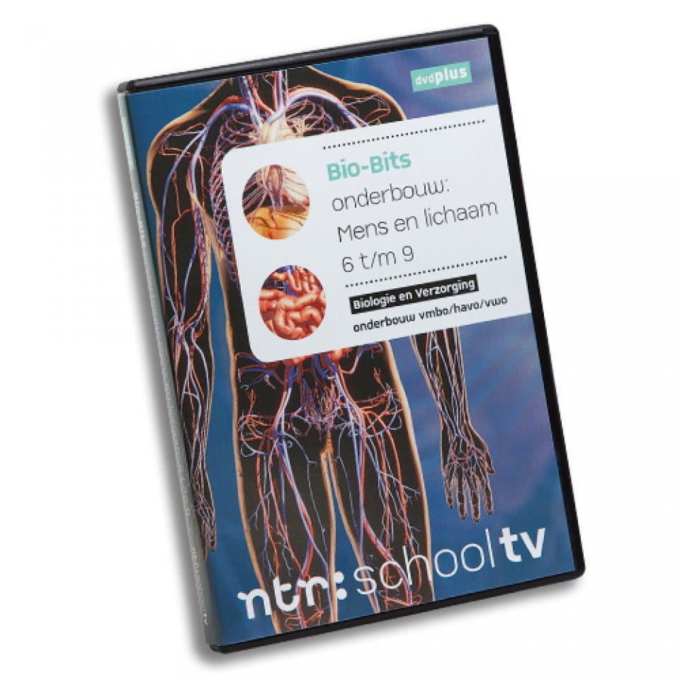 Mens en lichaam 6-9 - Bio-Bits onderbouw dvdPLUS