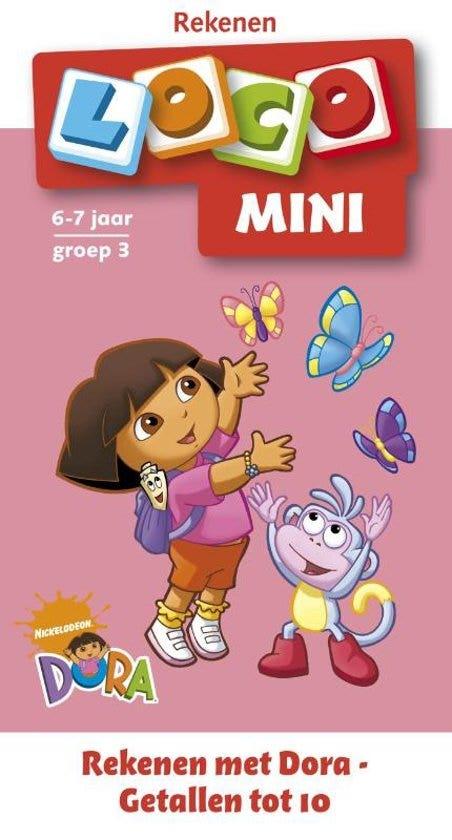 Mini Loco Rekenen met Dora Getallen tot 10