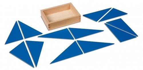 Twaalf blauwe driehoeken - producten