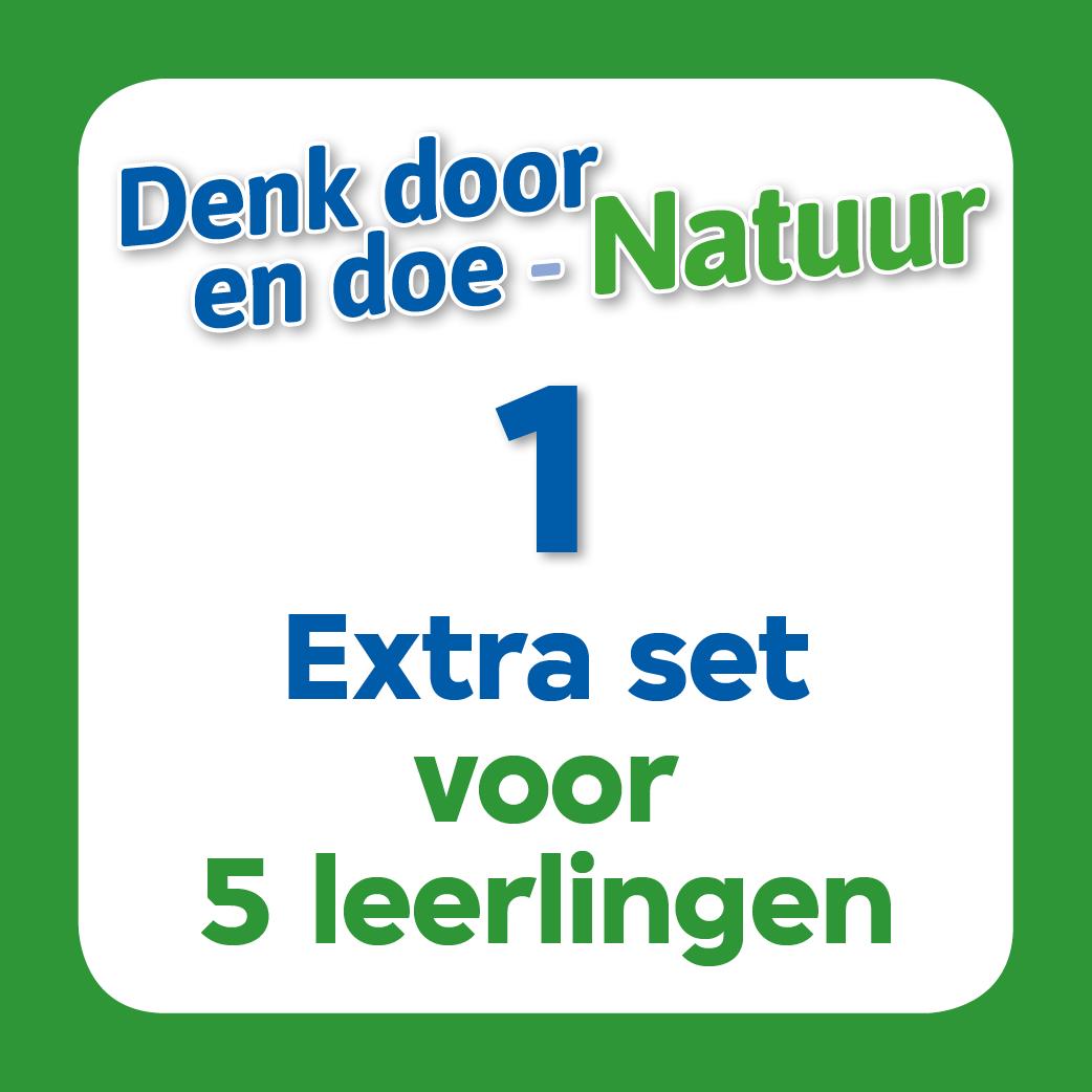 Denk door en doe Natuur lespakket 1 extra set 5 leerlingen