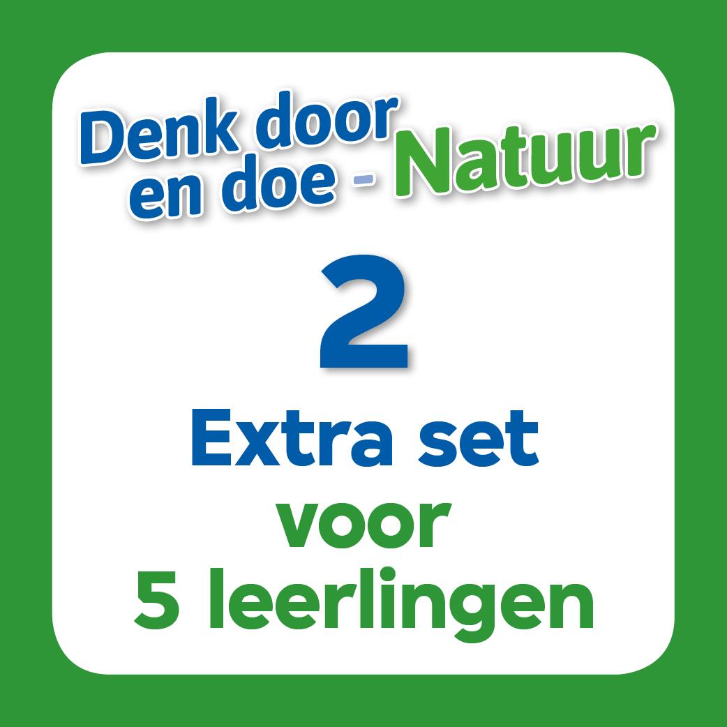 Denk door en doe - Natuur lespakket 2 (extra set 5 leerlingen)