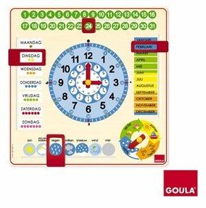 Kalenderklokpuzzel