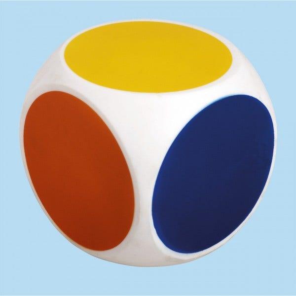 Kleuren dobbelsteen (10cm)