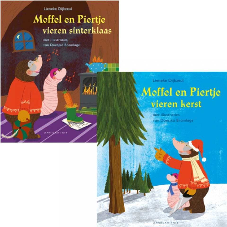 Koekeloere omkeerboek Sint/Kerst