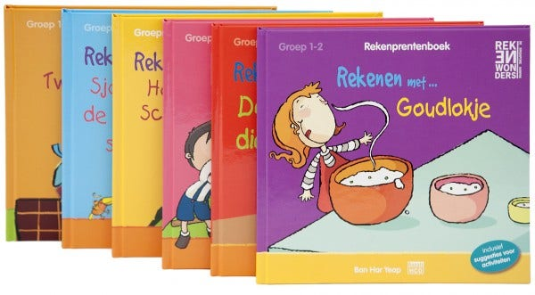 Rekenprentenboeken - pakket 1