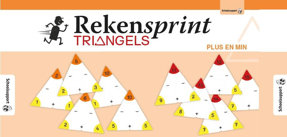 Rekensprint Triangels Keer en deel
