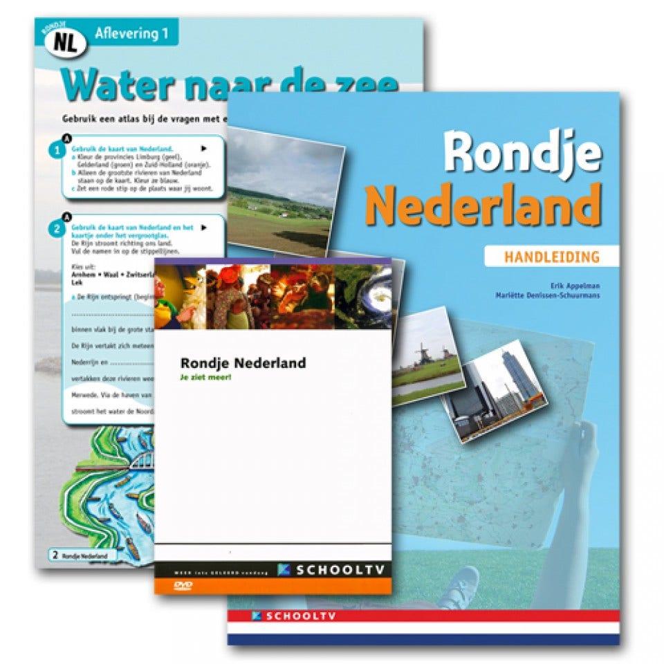 Rondje Nederland 1-6 (DVD en Handleiding)