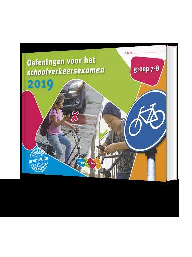 Oefeningen voor het schoolverkeersexamen 2019 - oefenboek