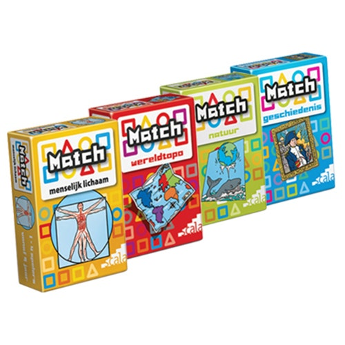 Set 4 x Match