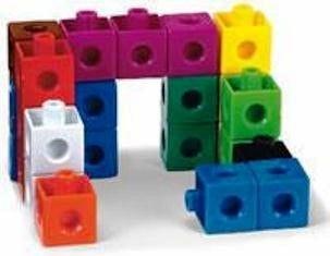 Snap Cubes set van 1000