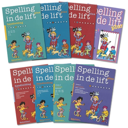Spelling in de lift Plus - Methode