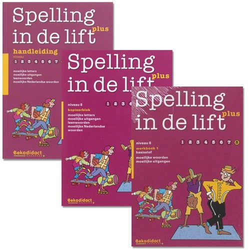Spelling in de lift Plus - Niveau 8