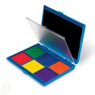 Stempelinkt - 7 kleuren
