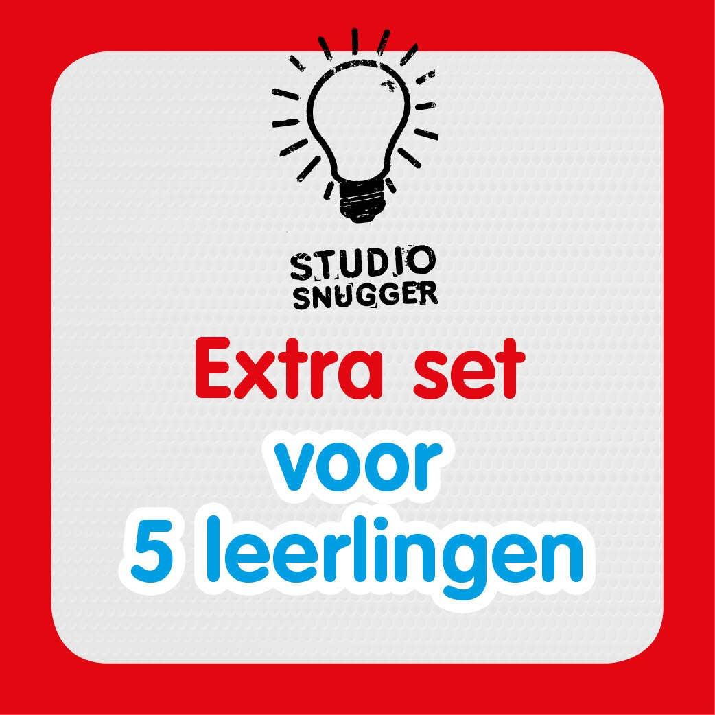 Studio Snugger lespakket extra set  5 leerlingen