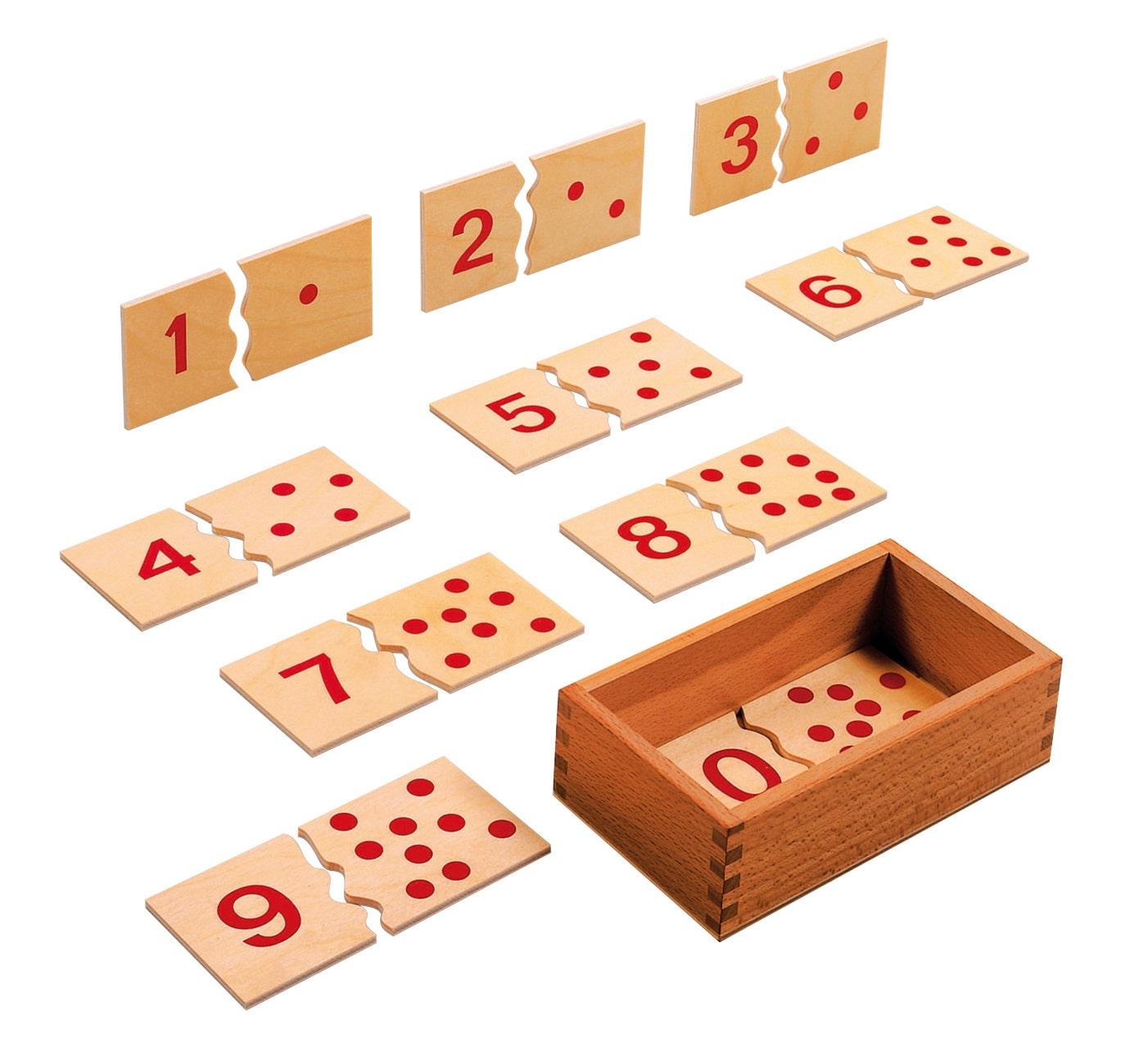 Cijfer puzzel 1-10