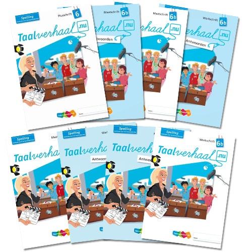 Taalverhaal.nu - Spelling - Groep 6