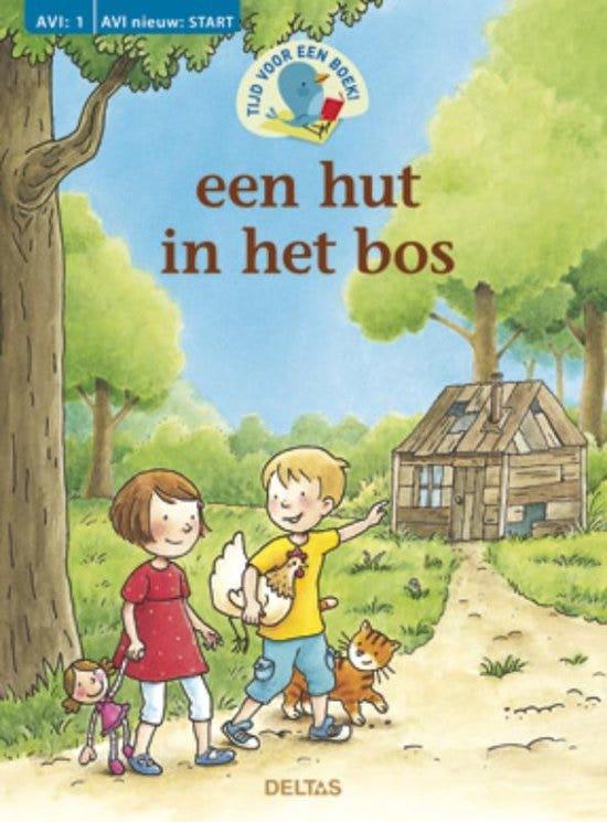 Tijd voor een boek! een hut in het bos (AVI: 1 AVI: nieuw start)