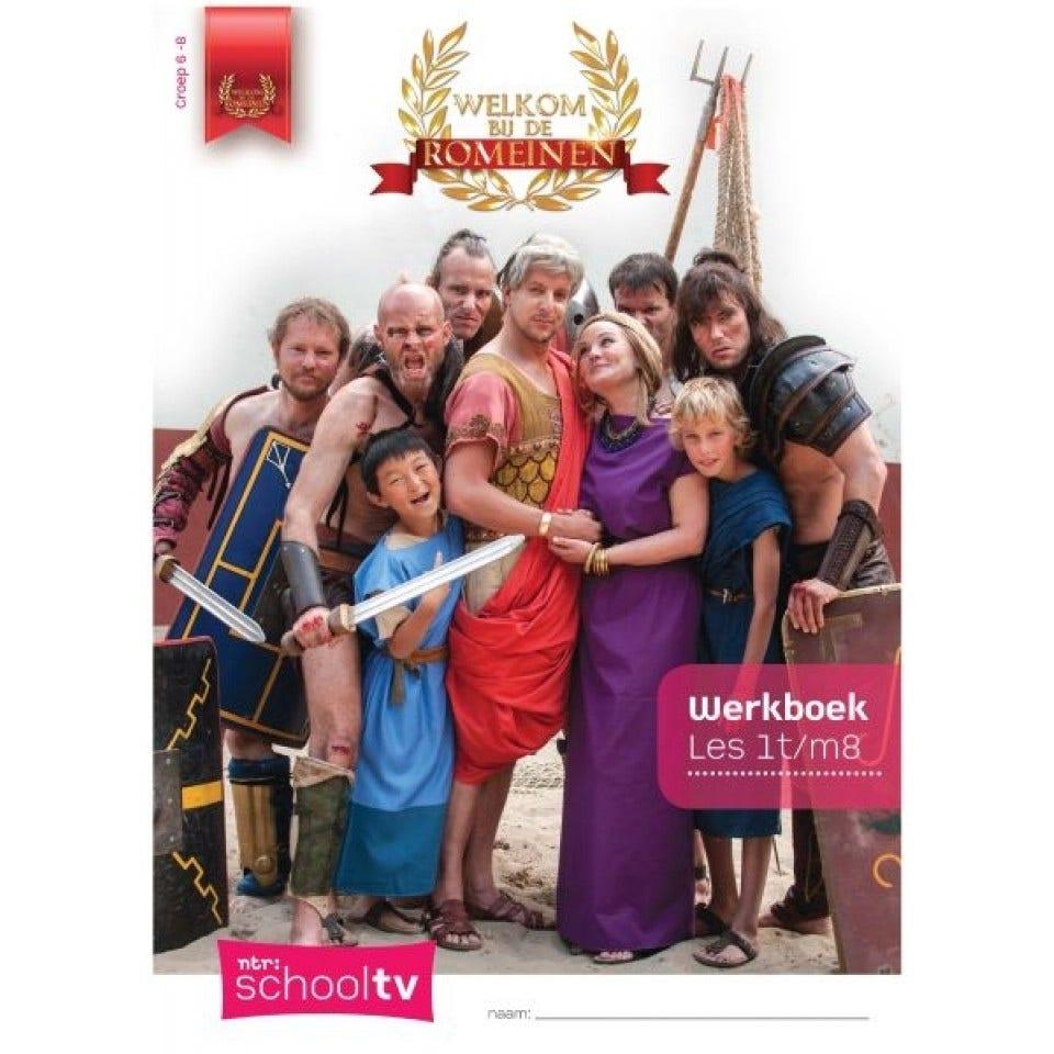 Welkom bij de Romeinen Werkboek