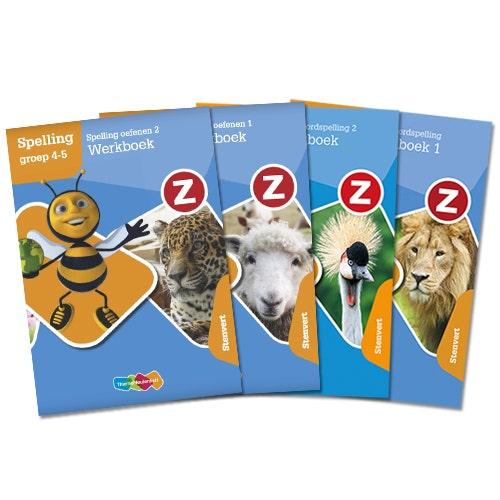 Z-Spelling - Groep 3 t/m 8 - Zelfstandig werken